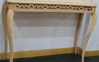Mueble entrada con espejo antiguo labrado [2021421]